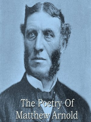 cover image of Matthew Arnold