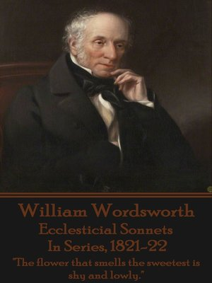 cover image of Ecclesticial Sonnets, In Series, 1821-22