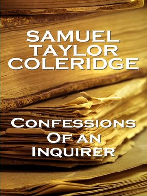 cover image of Confessions of an Inquirer