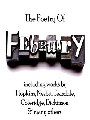 cover image of The Poetry of Febuary