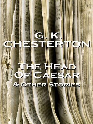 cover image of The Head of Caesar & Other Stories
