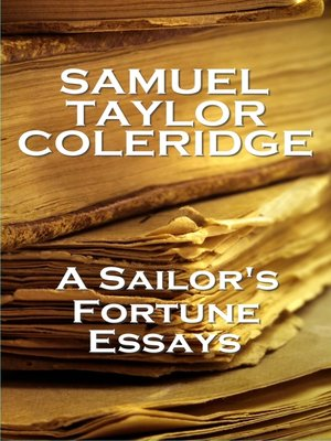 cover image of Sailors Fortune Essays