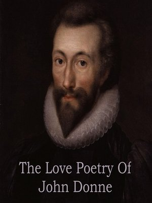 cover image of The Love Poetry of John Donne