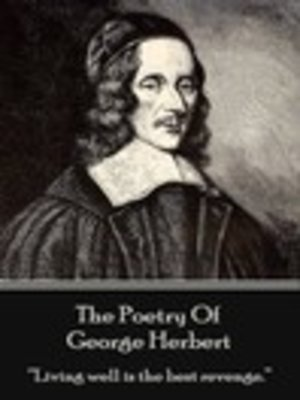 cover image of The Poetry of George Herbert