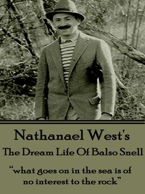 cover image of The Dream Life of Balso Snell