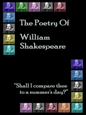 cover image of The Poetry of Shakespeare
