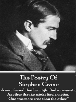 cover image of The Poetry of Stephen Crane