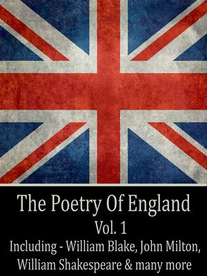 cover image of The Poetry of England, Volume 1