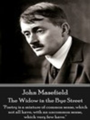 cover image of The Widow in the Bye Street