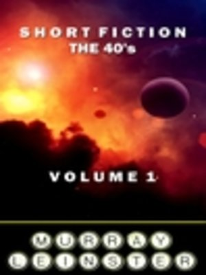 cover image of Short Fiction - The 40's, Volume 1