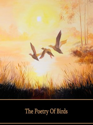 cover image of The Poetry of Birds