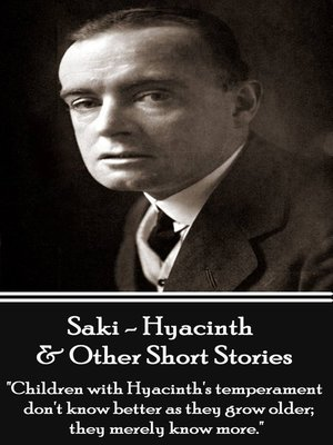 cover image of Hyacinth & Other Short Stories