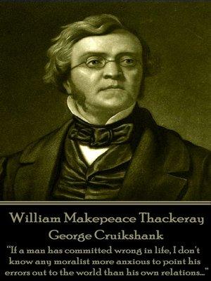 cover image of George Cruikshank