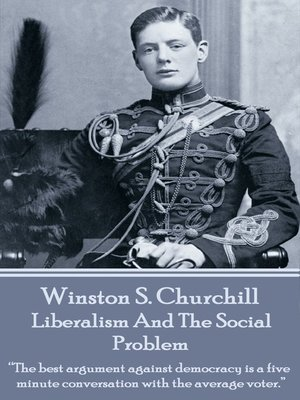 cover image of Liberalism and the Social Problem