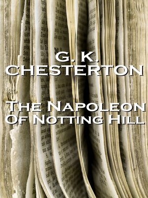 cover image of Napoleon of Notting Hill
