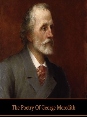 cover image of The Poetry of George Meredith