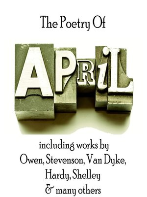 cover image of The Poetry of April