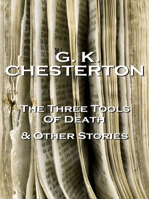 cover image of The Three Tools of Death & Other Storeis