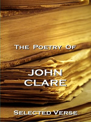 cover image of The Poetry of John Clare
