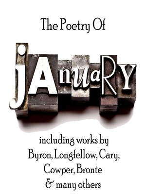 cover image of The Poetry of January