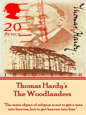 cover image of The Woodlanders, by Thomas Hardy