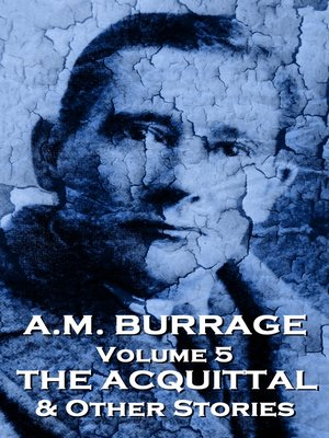 cover image of A. M. Burrage, Volume 5