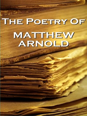 cover image of The Poetry of Matthew Arnold