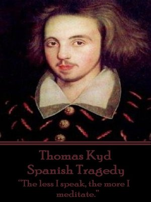 cover image of Spanish Tragedy