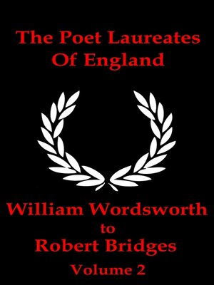 cover image of The Poet Laureates of England, Volume 2