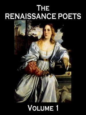 cover image of The Renaissance Poets, Volume 1