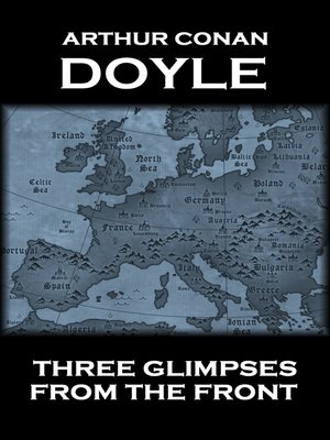 cover image of Three Glimpses from the Front