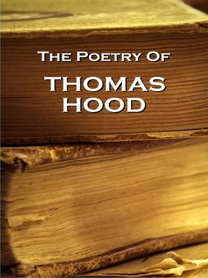 cover image of The Poetry of Thomas Hood