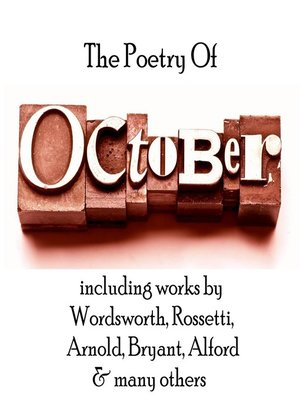 cover image of The Poetry of October