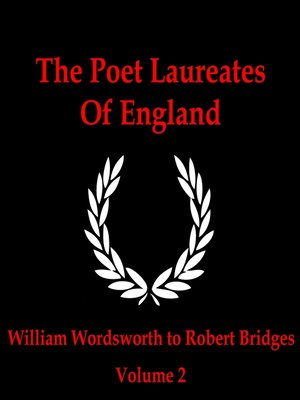 cover image of The Poet Laureates, Volume 2