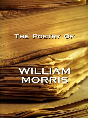 cover image of The Poetry of William Morris