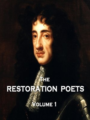 cover image of The Restoration Poets, Volume 1