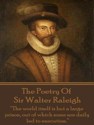 cover image of The Poetry of Sir Walter Raleigh