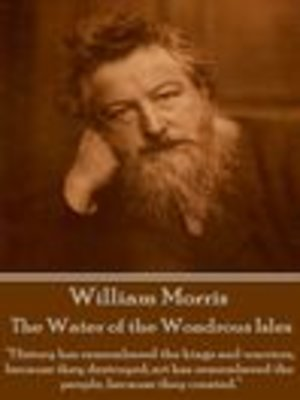 cover image of The Water of the Wondrous Isles