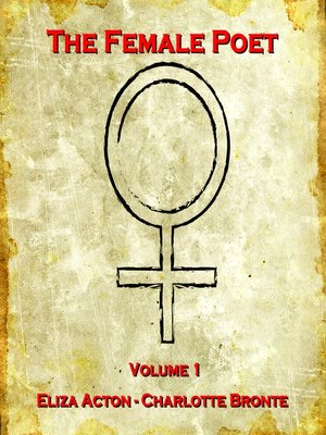 cover image of The Female Poet, Volume 1