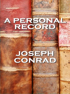 cover image of A Personal Record