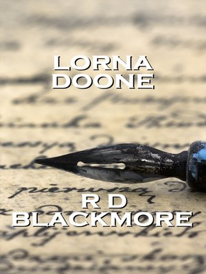 cover image of Lorna Doone