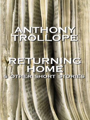 cover image of Returning Home & Other Short Stories