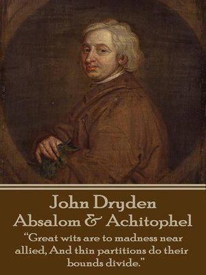 cover image of Absalom & Achitophel