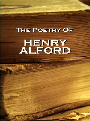 cover image of The Poetry of Henry Alford
