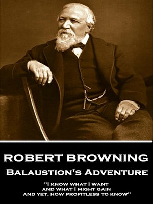 cover image of Balaustion's Adventure