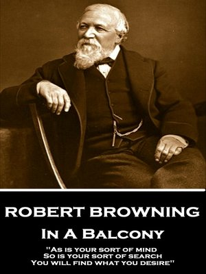 cover image of In a Balcony