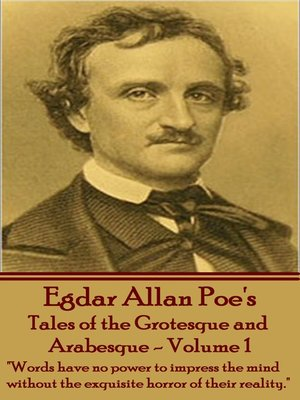 cover image of Tales of the Grotesque and Arabesque, Volume 1