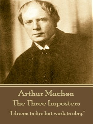 cover image of The Three Imposters
