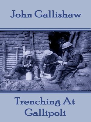 cover image of Trenching At Gallipoli