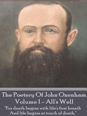 cover image of The Poetry of John Oxenham, Volume 1